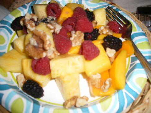 Paleo Power Fruit and Nut Salad