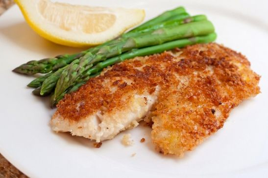 Parmesean Crusted Talapia