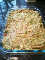 Chicken Pesto Penne Casserole