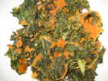 Cheesey Vegan kale chips
