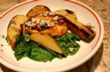 Tangy Grilled Pork w.Pears & Blue Cheese