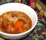 Zina's Beef & Veggie Borscht Soup