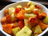 Roasted Root Vegetables with Rosemary