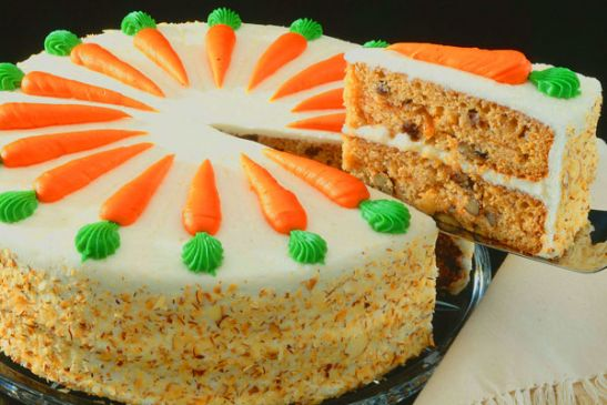 Carb Free Carrot Cake