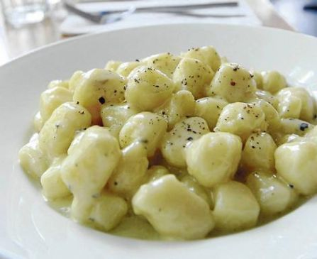 Gnocchi with Four Cheese