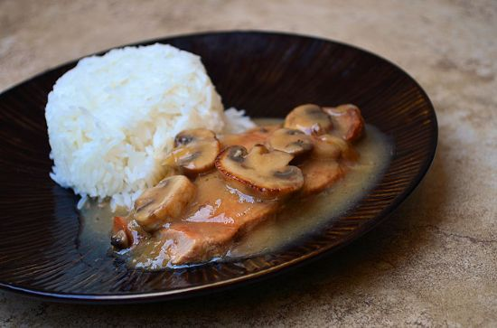 Pork Chops With Mushroom Gravy