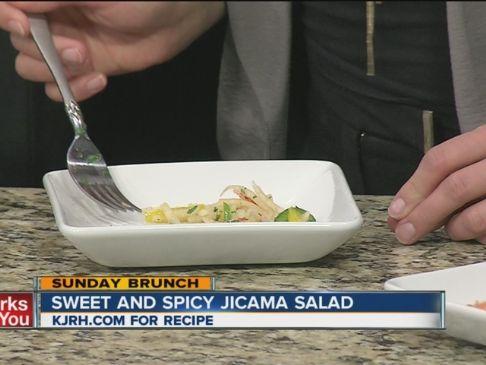 Sweet and Spicy Jicama Salad