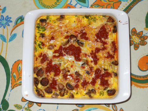 vegetarian no cheese fritata