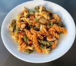 Hot Pasta Chicken Salad