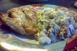 ensalada de colle, choclo,arvejas y cebollas (220g)