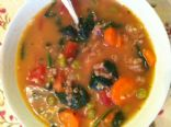 Turkey & Veggie Soup with Quinoa
