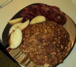 Egg oatmeal Pancake