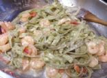 Low Carb Shrimp Fettuccine