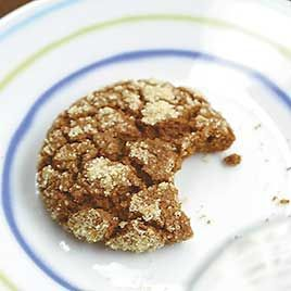 Soft & Chewy Molasses cookies