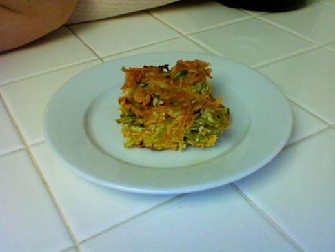 Kugel Inspired Veggie Yam Casserole