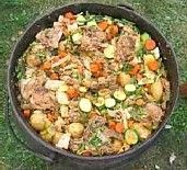 Lamb and Vegetable Potjie