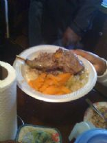 Roast Racoon And Candied Yams