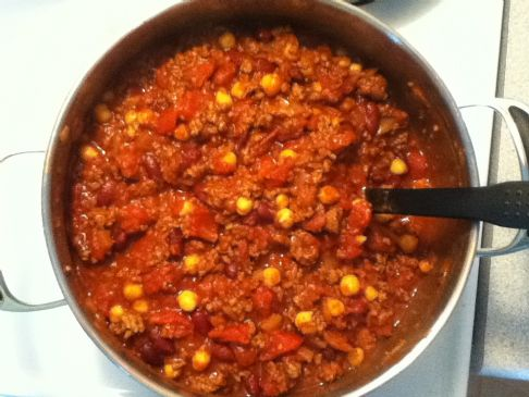 Joy's Southwest Chili
