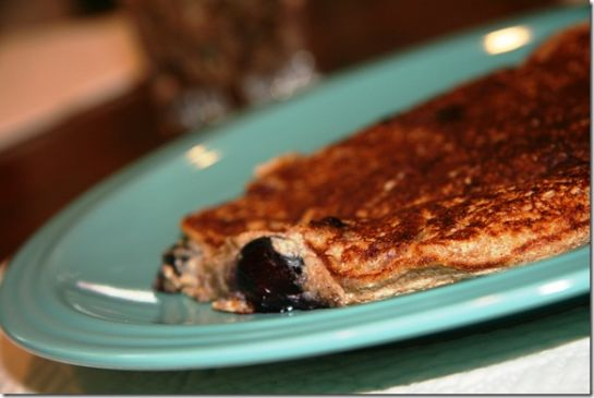 FANNETASTIC FOOD's Blueberry Spelt Pancakes