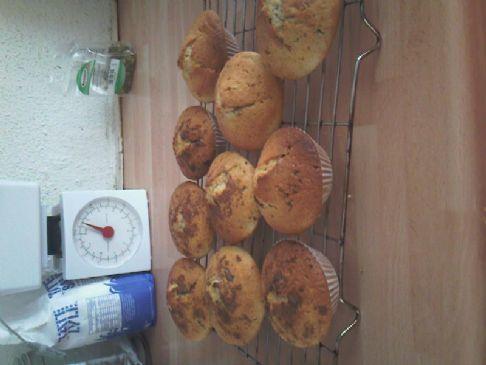 Small Chocolate Chip Muffins