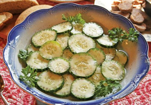 Lemon-Pepper Cucumbers