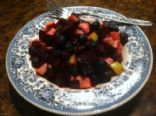 Beet & Blueberries Salad
