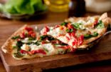 White Bean, Basil and Sun-Dried Tomato Pizza
