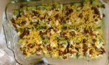 Zucchini Cheese Boats
