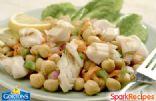 Grilled Fillet Chickpea Salad