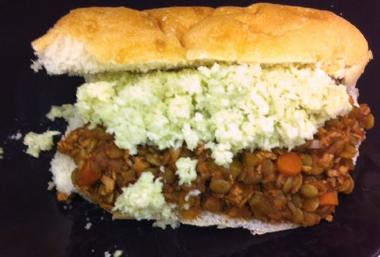 Low Fat Vegetarian Sloppy Joes
