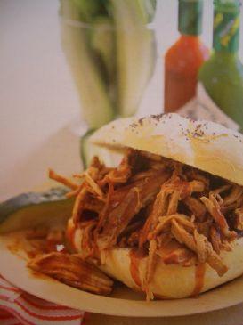 Pork Barbeque Sandwiches - Weight Watchers