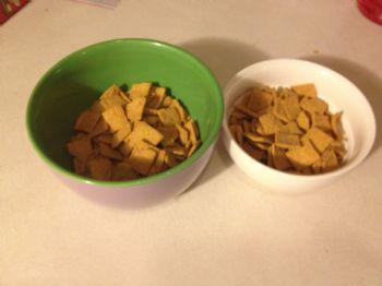 Random Photos The Real Size Of A Cereal Bowl