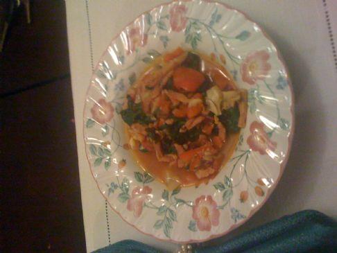7 39 S Devilish Ham Soup Recipe Sparkrecipes