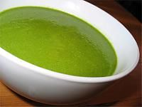 Raw Spinach Soup