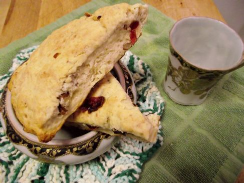 Al's orange cranberry scones
