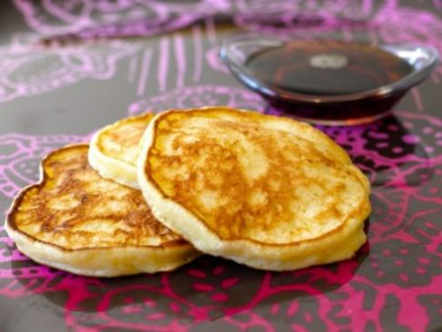 Light 'n Fluffy Cottage Cheese Pancakes
