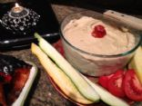 Hummus  Full of Flavor & good fats with Roasted Red Peppers   Chickpeas/Garbonzos
