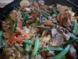 Garden Vegetable & chicken Stirfry