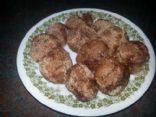 Low Carb Coconut Flour Cinnamon Bites