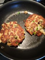 Salmon Patties (2) for Salad or Sandwich