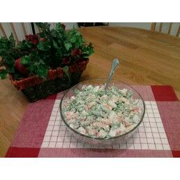 Garden and Crab Pasta Salad