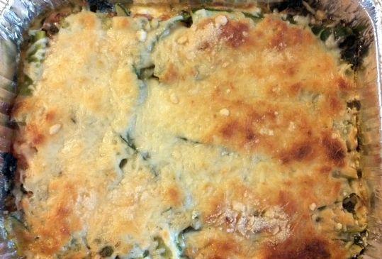 Swiss Chard Tomato Lasagna with Zucchini Noodles