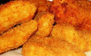 Honey Walleye w\ Cracker 'breading'