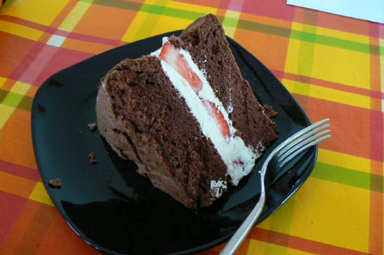 Low Fat Celebration Cake Recipes: Low Fat Chocolate Sponge Cake Recipe