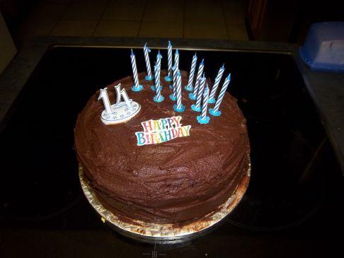 Mams' Light Chocolate Sponge Cake