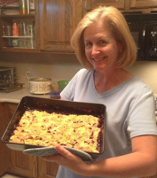 KrittyGirl's Blackberry Cobbler