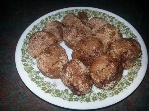 Low Carb Coconut Flour Cinnamon Bites