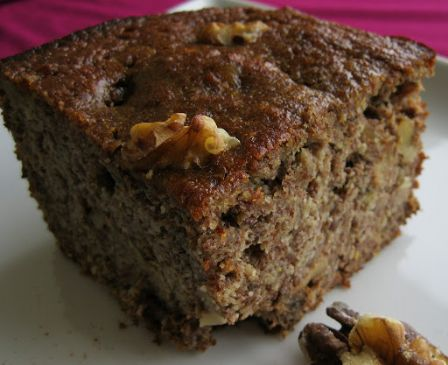 Whole Wheat Pear Coffee Cake