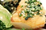 Fish with Parsley Pesto
