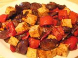 Spicy Eggplant Tofu Stir Fry
